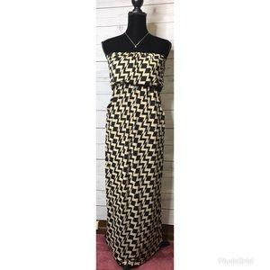 🔥 Chevron maxi dress XS